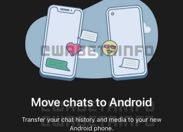 WhatsApp, WhatsApp migration, WhatsApp Android, WhatsApp iOS,