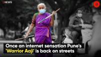 Once an internet sensation Pune's 'Warrior Aaji' is back on streets