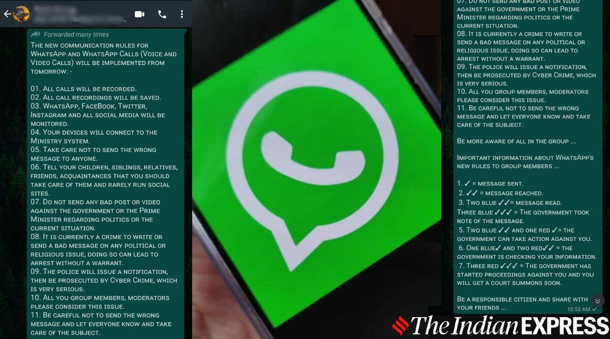 whatsapp, whatsapp fake message, WhatsApp, WhatsApp privacy policy, WhatsApp update, WhatsApp news, WhatsApp privacy, WhatsApp fake message, what is WhatsApp privacy policy, WhatsApp features, WhatsApp android, WhatsApp ios, whatsapp, three red ticks, three blue ticks, WhatsApp blue ticks, WhatsApp red ticks, WhatsApp three ticks, government spying on WhatsApp chats, government reading WhatsApp messages