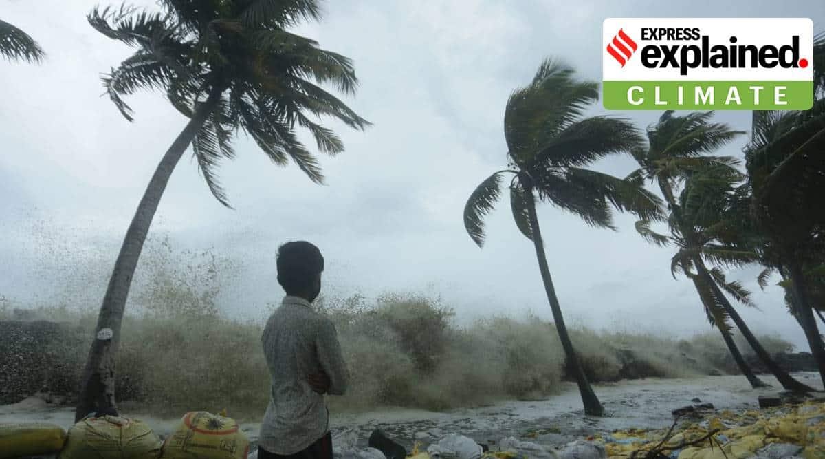 Cyclone Tauktae, Explained, Explained Climate, Arabian Sea, very severe cyclonic storm, Kerala cyclone, Maharashtra cyclone, Gujarat cyclone, indian express