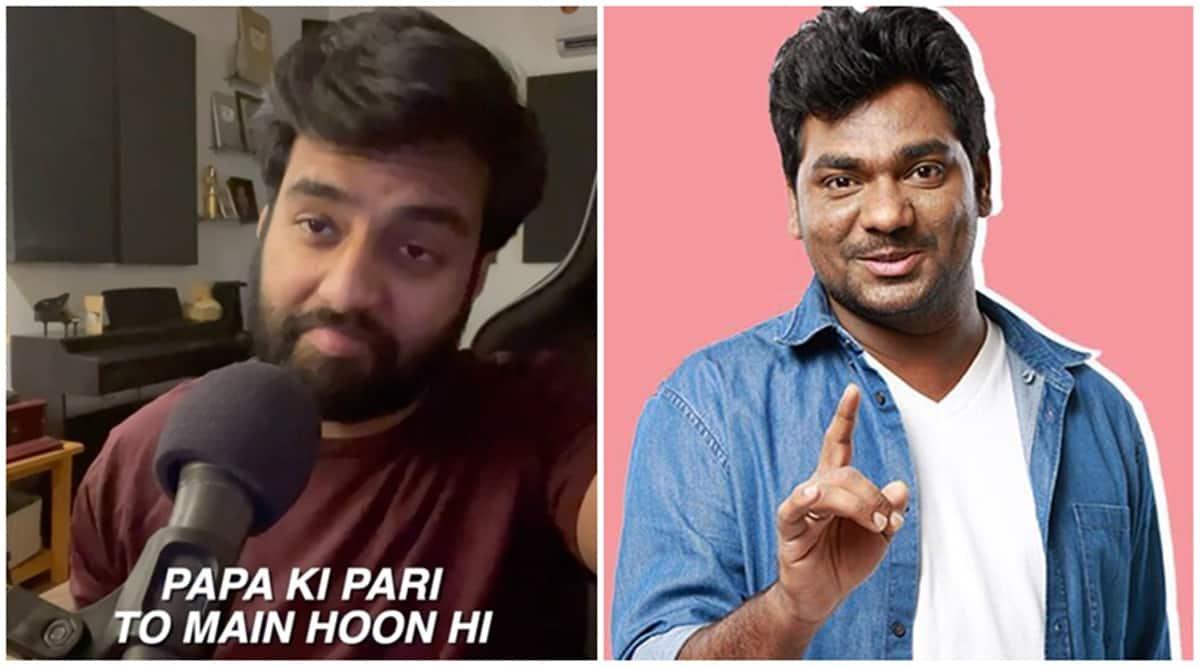 Yashraj Mukhate new inspiration is comedian Zakir Khan, watch new remix Papa ki pari video
