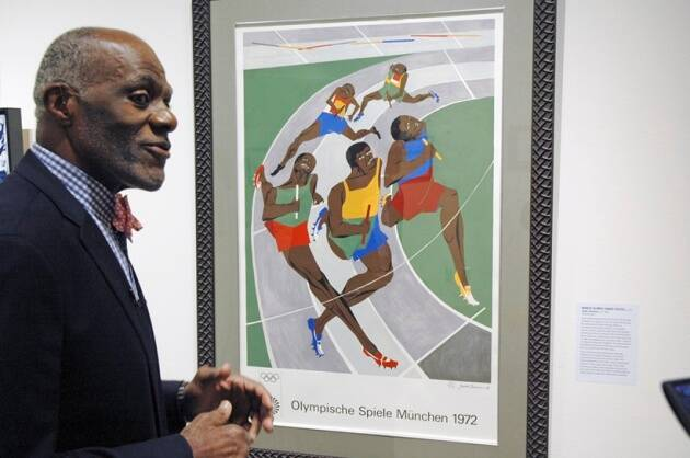 Alan Page, alan page collection, Jean-Michel Basquiat, art auction, indianexpress.com, indianexpress, Jean-Michel Basquiat drawings, Phillips Auction House news, alan page news,