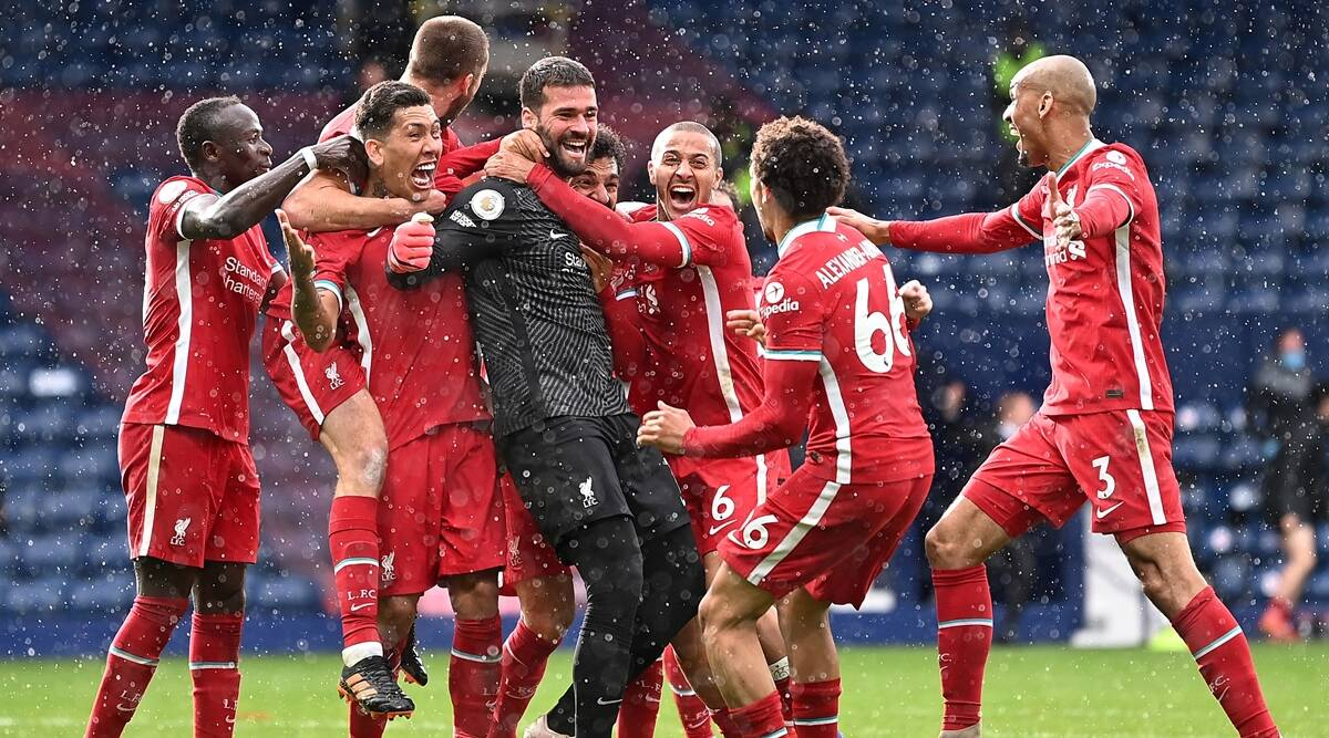 Alisson Becker heads Liverpool to last-gasp victory at WBA; Tottenham beat Wolves