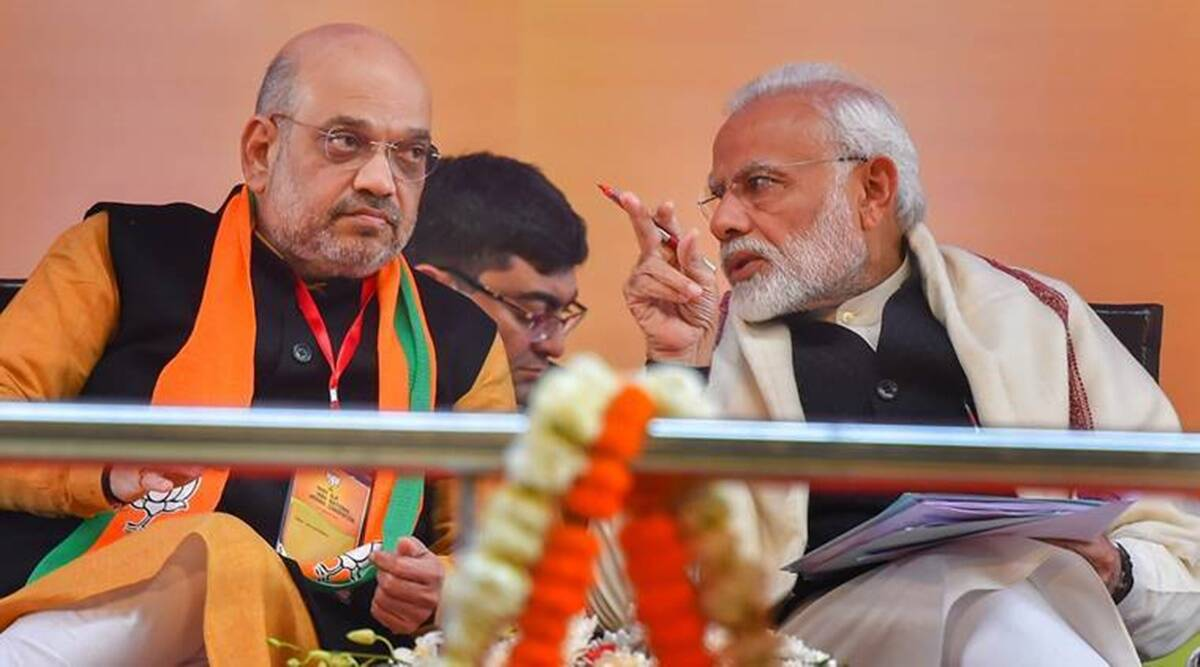 Narendra Modi, Amit Shah, Vijay Rupani, Nitin Patel