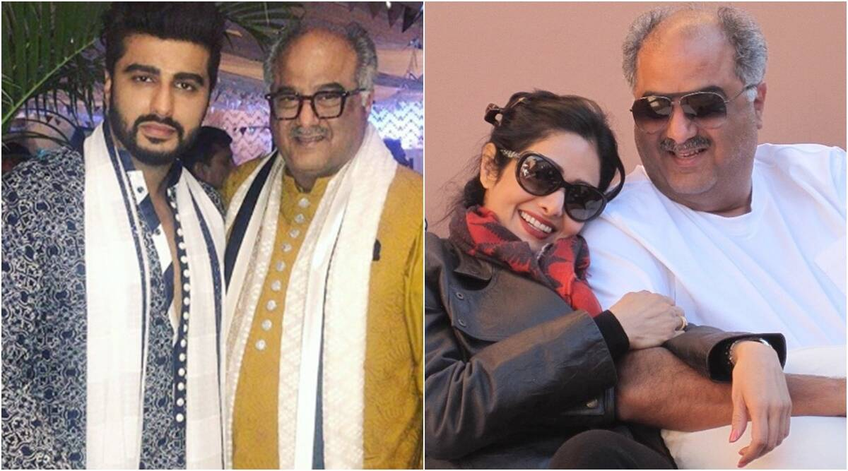 Photo of Arjun Kapoor says 'not ok' with father Boney Kapoor leaving mother Mona to marry Sridevi: 'But I understand it'