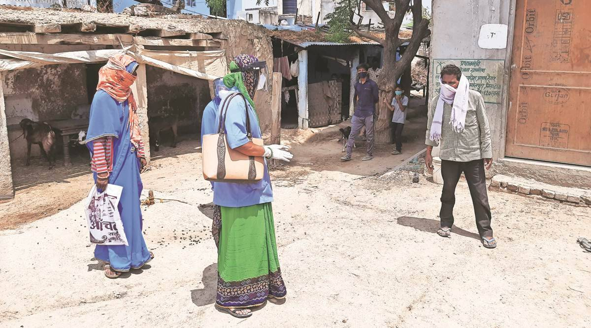 Compensation stands at Rs 2,970 per month after hike earlier this year: Taking Covid fight door-to-door, Rajasthan ASHA workers speak of inadequate honorarium