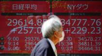 Asia shares alarmed by US inflation scare, count on calm Fed
