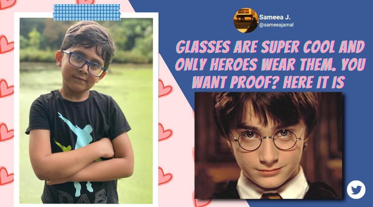 boy trolled for wearing glasses, actors politicians cheer bullied boy, boy bullied for glasses gets support from world, good news, pakistan news, viral news, indian express