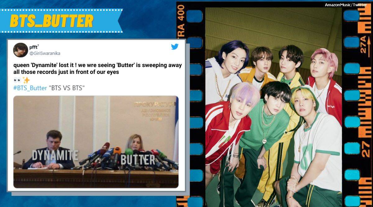 As BTS's 'Butter' breaks group's own record, it's raining memes online