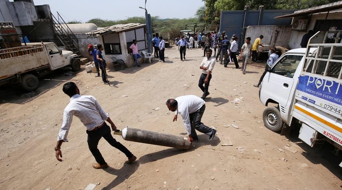 Gujarat Morbi covid oxygen news