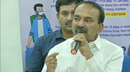 Fresh probe against former Telangana health minister over allegations of encroaching temple land