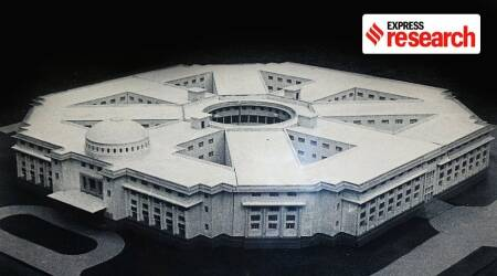 Central Vista, National Museum, architectural statements of an Independent India, National archives, INGCA, new Parliamentary complex, History of National museum, Express research, Indian express