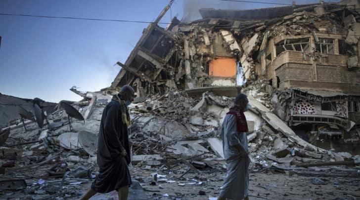 Gaza attack, Gaza death toll, gaza-Israel, Palestine, Gaza attack news, World news, Indian express
