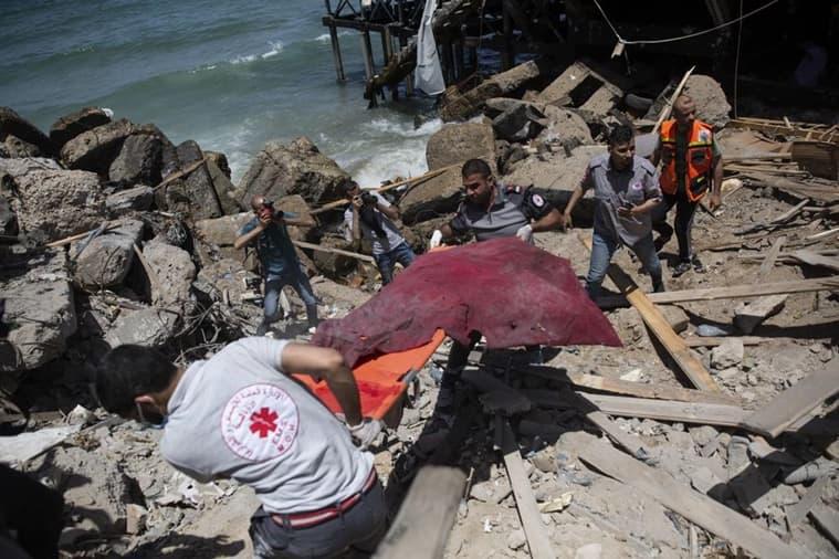 Gaza air strike Israel
