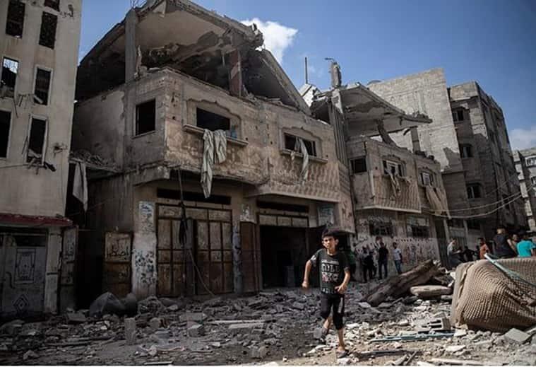 Gaza air strikes Israel army