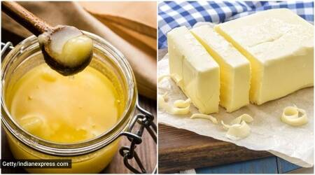 ghee vs butter, ghee benefits, butter benefits, how is ghee made, ghee is good? should you have ghee?, indianexpress.com, indianexpress,