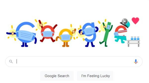 google doodle, covid vaccine, google doodle coronavirus pandemic, google covid related doodle, google doodle vaccine, covid vaccine tracker, viral news, indian express