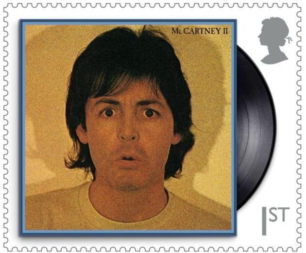 paul mccartney, stamps