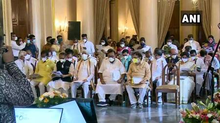 West Bengal: 43 TMC members take oath in Mamata's third cabinet