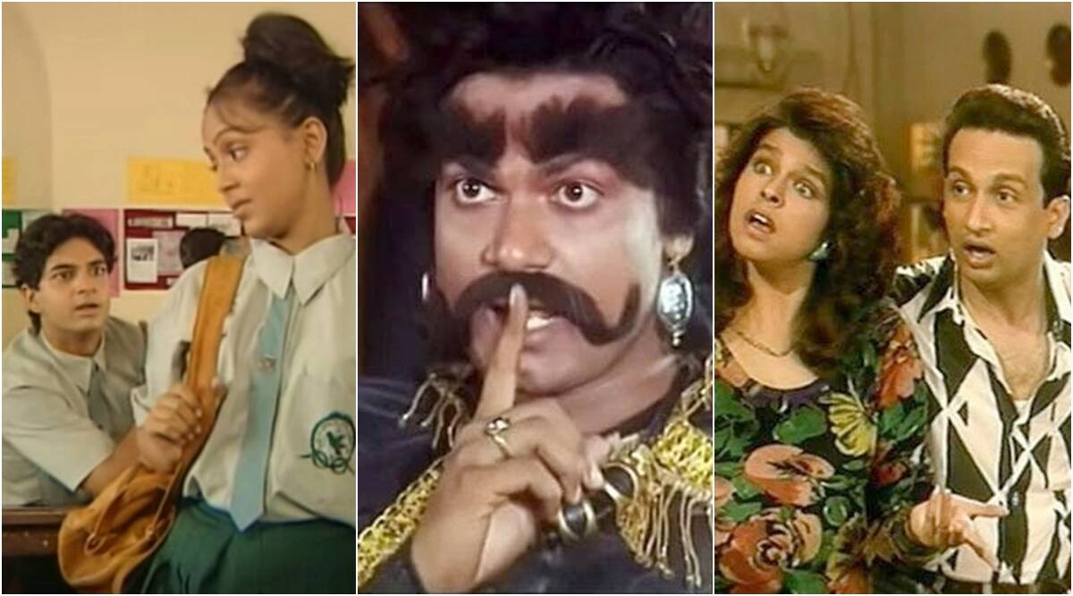 indian tv shows reunion dekh bhai dekh hip hip hurray chandrakanta