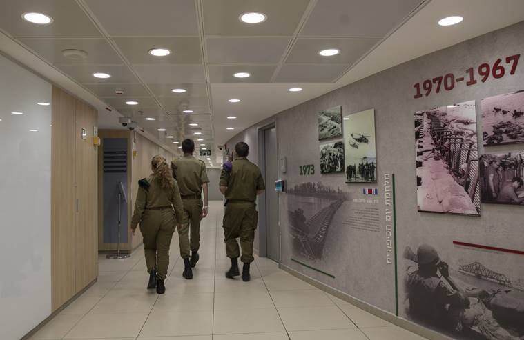 A look inside Israel's 'Fortress of Zion' command under Tel Aviv