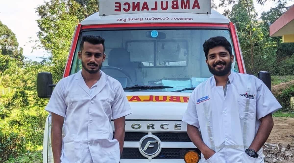 Kerala, Kerala ambulance staff