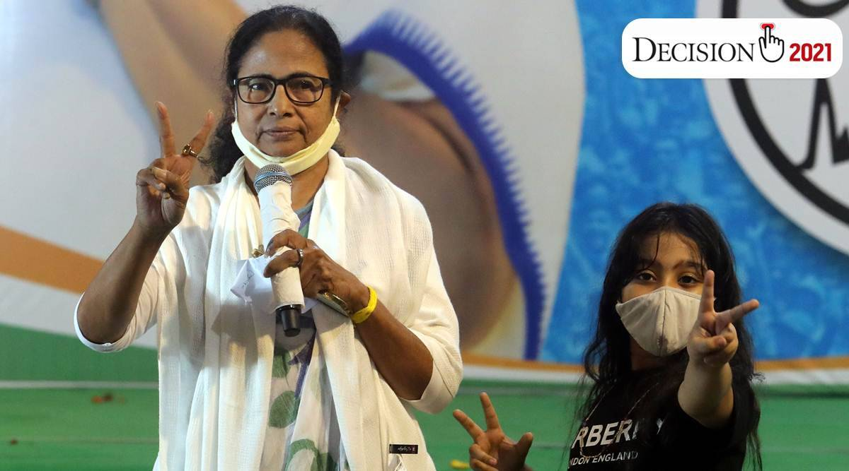West Bengal: Mamata takes TMC to historic victory, but loses her own seat