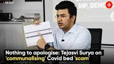 Nothing to apologise: Tejasvi Surya on 'communalising' Covid bed 'scam'