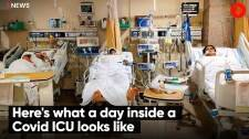 Here's what a day inside a Covid ICU looks like