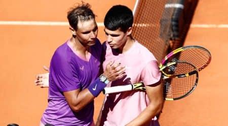 Rafael Nadal, Rafael Nadal madrid open, carlos alcaraz, rafael nadal vs carlos alcaraz, carlos alcaraz injury