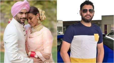 angad bedi neha dhupia marriage yuvraj singh upset