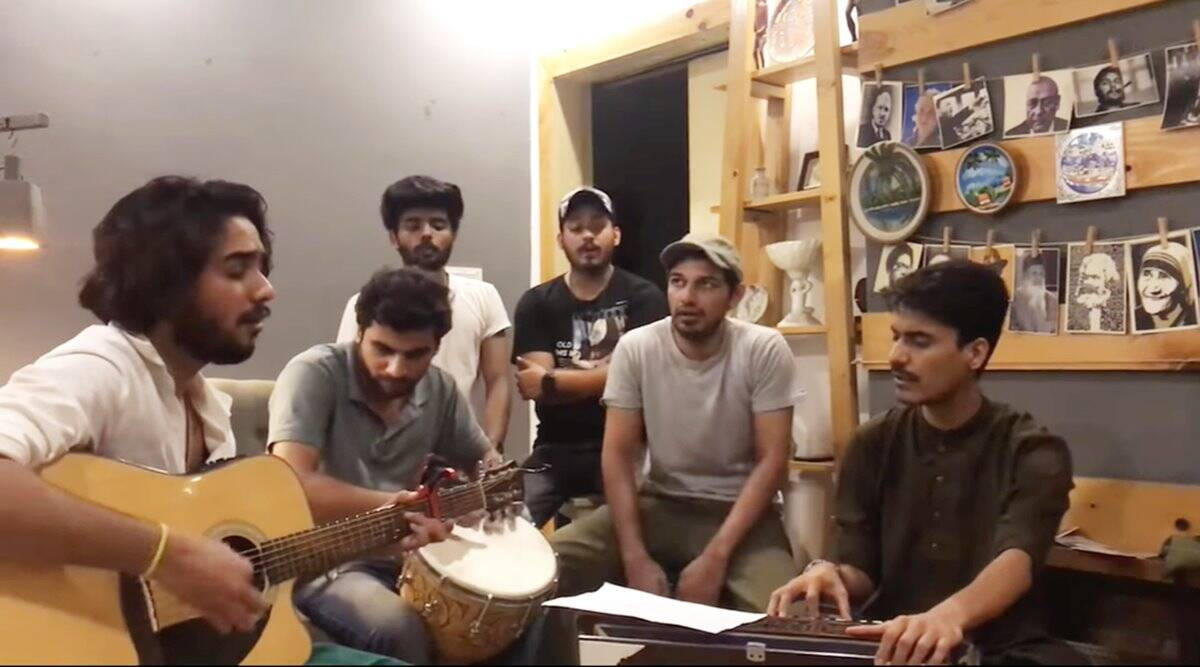 india covid second wave, pak singers solidarity with covid patients, pakistanis support india covid crisis, pakistan stands with india, viral videos, indian express
