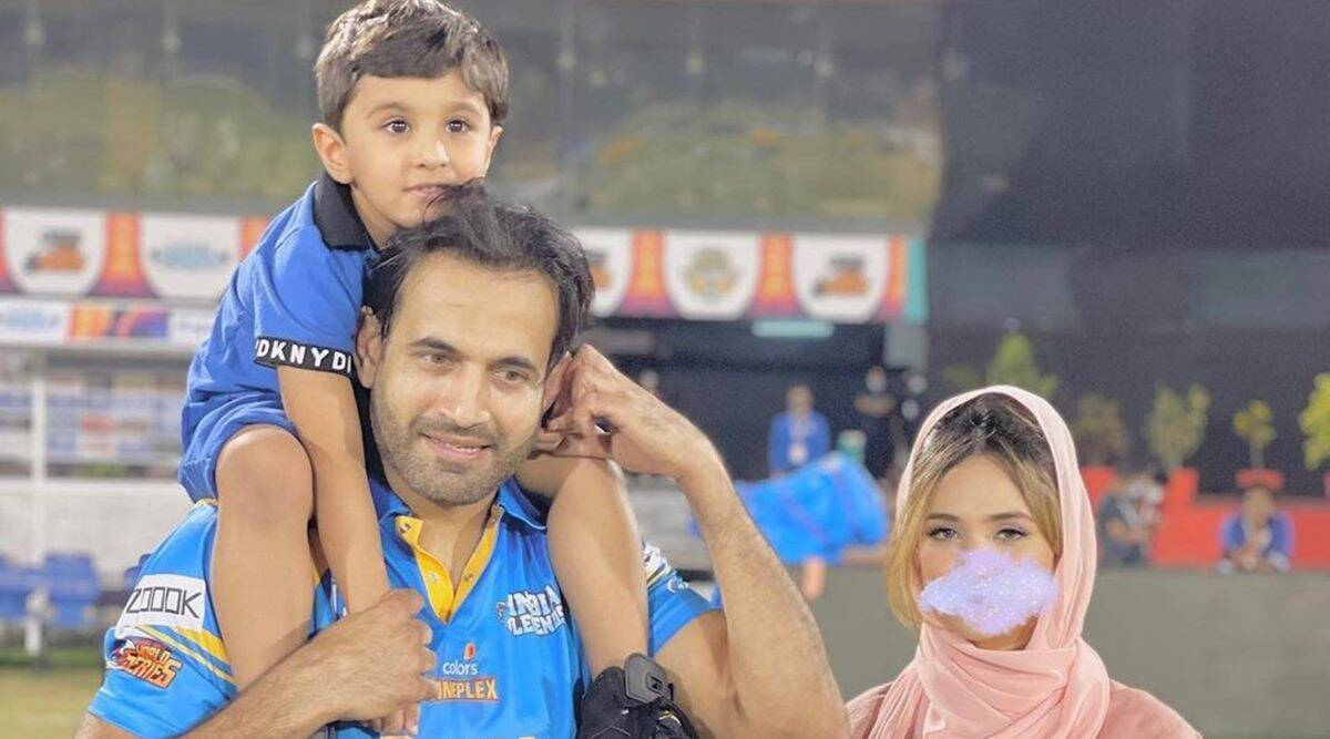 irfan pathan, irfan pathan wife, irfan pathan wife blurred face, irfan pathan wife safa baig, irfan pathan wife controversy