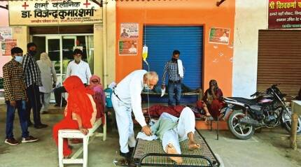 In Saharanpur, a lone doctor struggles to cope with flood of Covid patients
