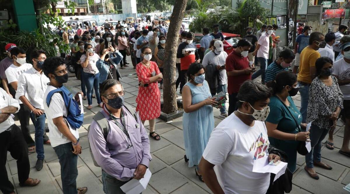 Pune: Protests outside clinic after group denied jab; hospital cites CoWIN glitch