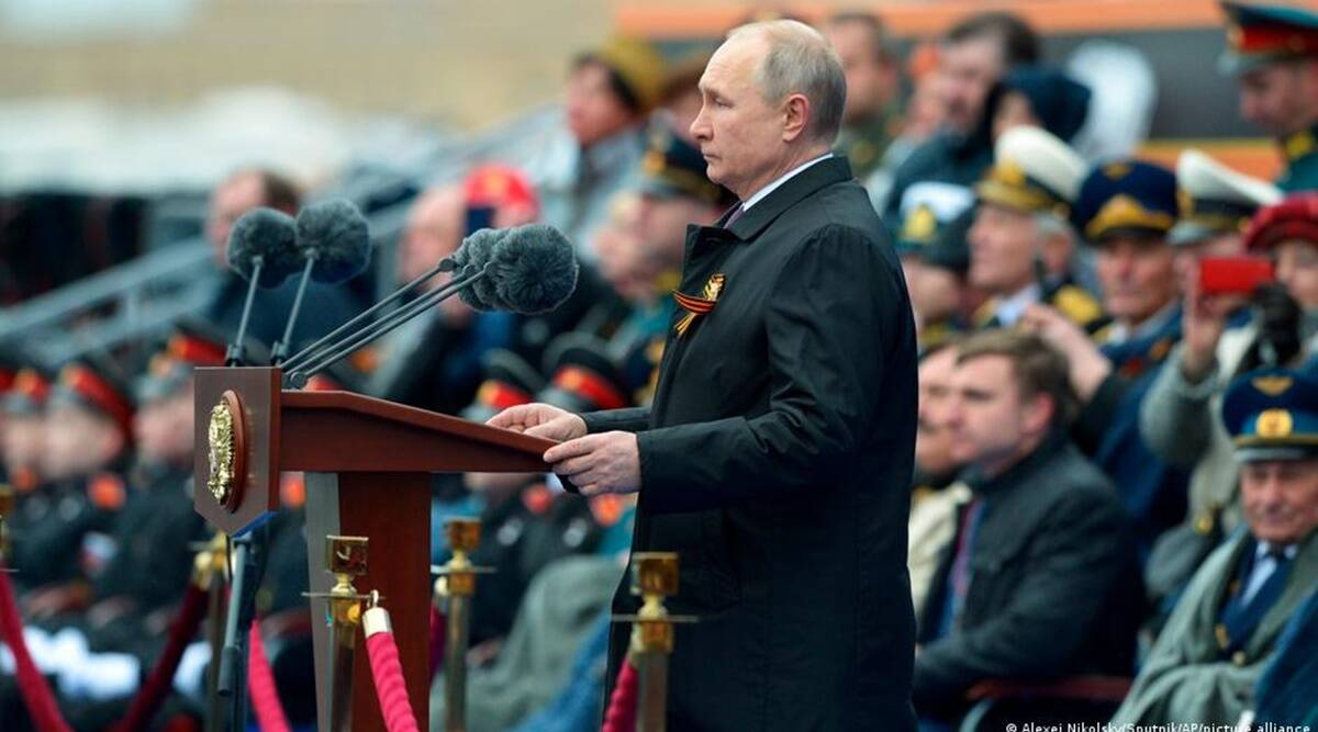 Victory Day: Putin says Russia will 'firmly' defend interests