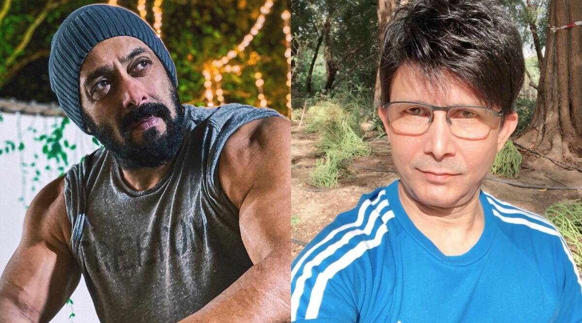 KRK insists Salman Khan's defamation case due to Radhe review, shares  photos of complaint | Entertainment News,The Indian Express