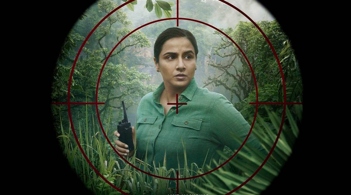 sherni film vidya balan poster