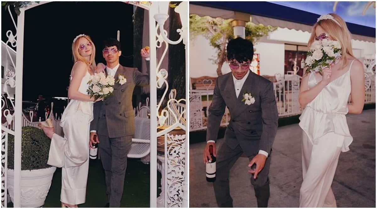 Sophie Turner, Sophie Turner joe jonas, joe jonas, Sophie Turner wedding anniversary