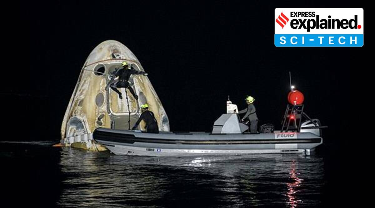Explained: Why the SpaceX nighttime splashdown is NASA's first since 1968