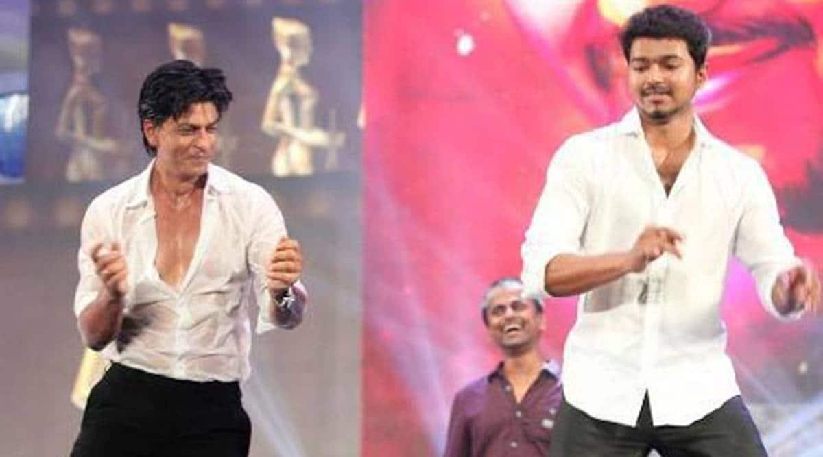 Shah Rukh Khan and Vijay