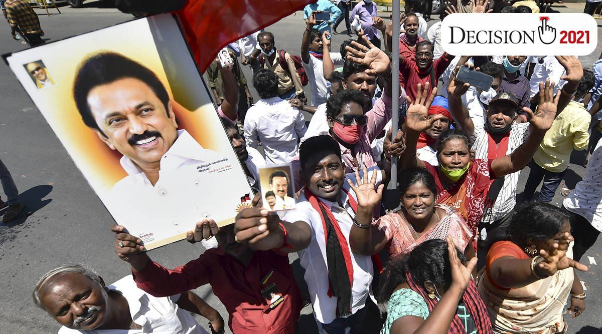 In Tamil Nadu, DMK staves off ADMK challenge, comes to power after a decade