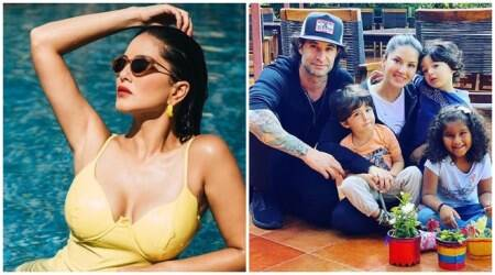 Happy Birthday Sunny Leone: 10 radiant photos of actor and her adorable family