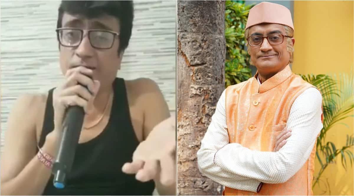 Taarak Mehta Ka Ooltah Chashmah's Amit Bhatt adds his own twist to Yeh Jeevan Hai, says 'ghar pe rahiye'