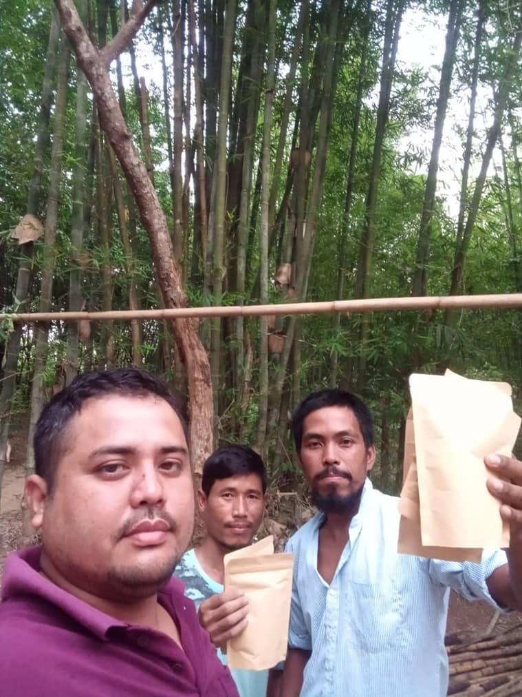 bamboo tea, Samir Jamatia, tripura bamboo tea, tripura forest products, tripura bamboo production, types of tea india, indian express, tripura news