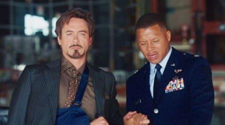 rhodey Terrence Howard Robert Downey Jr iron man marvel film