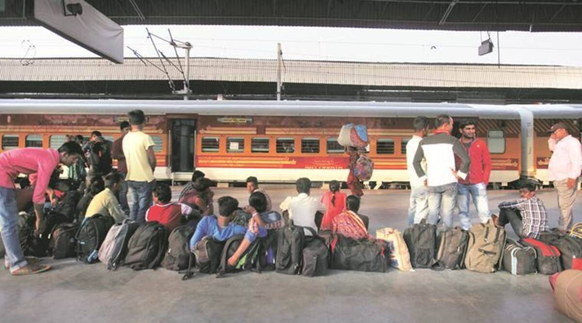 7.41 lakh people left for north, east, N-E states in April amid new curbs: Rly data