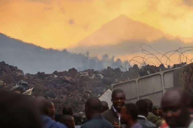 Congo volcano