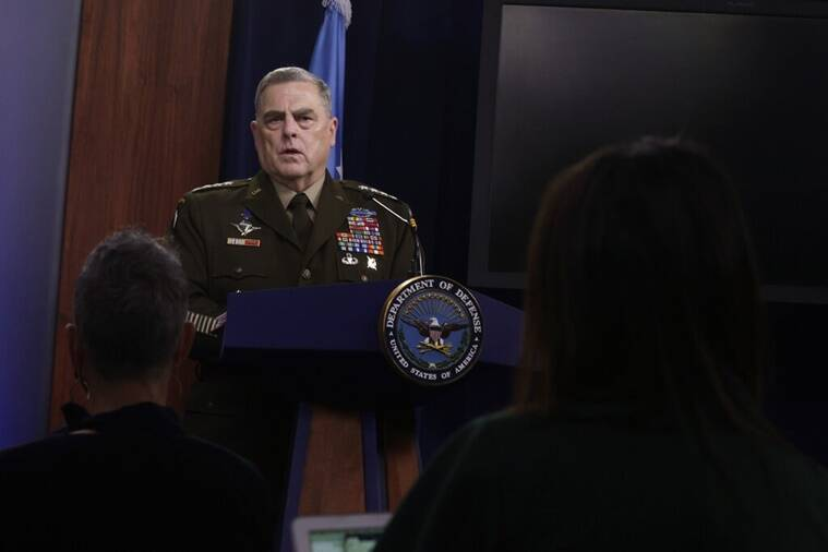 Gen. Mark A. Milley, US Military