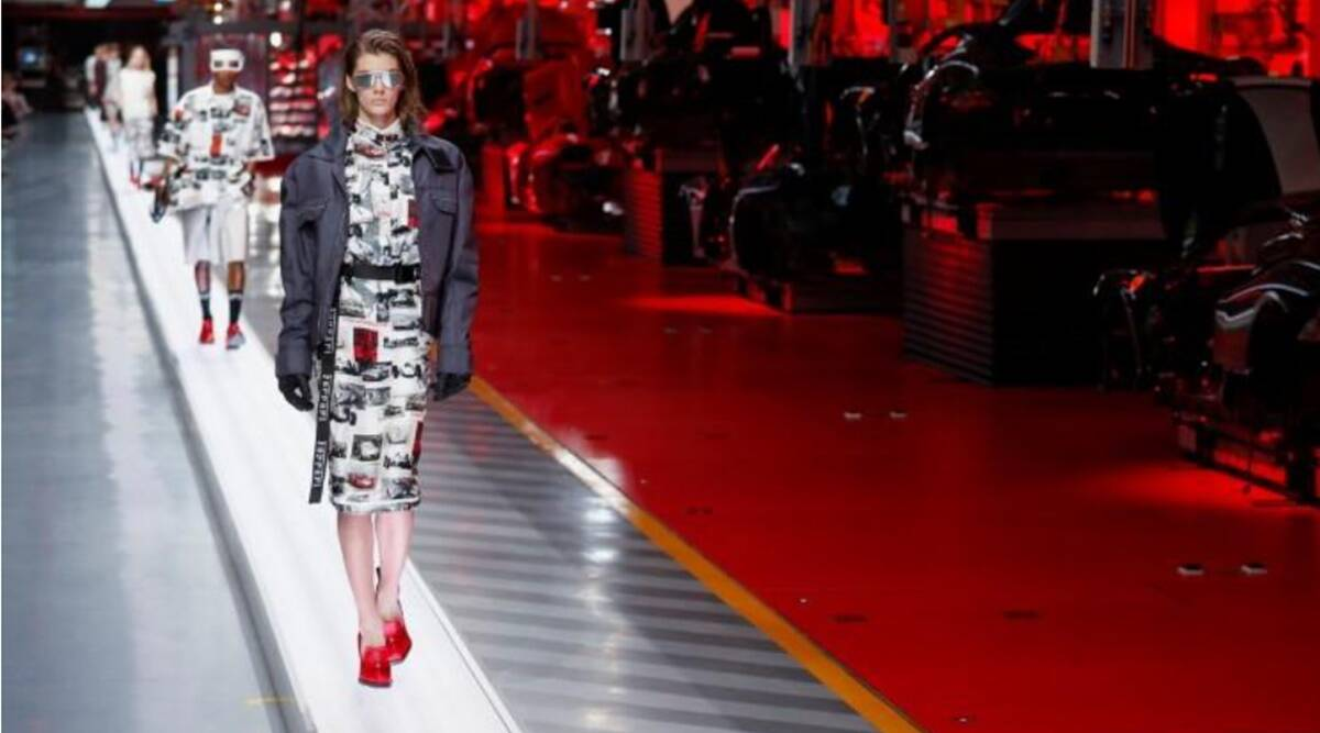 Ferrari's fashions reveal high-performance fabrics with 'couture touch'